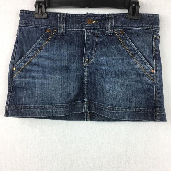 c3dfd17994 X2 Skirts   Quality Denim Womens Size6 Blue Jean Mini Skirt   Poshmark